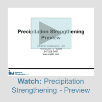 precipitation strengthening