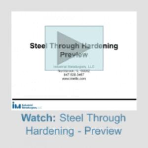steel through hardening