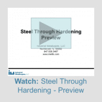 steel through hardening