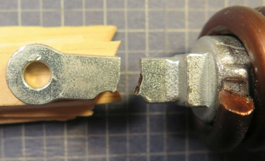 Fractured forged 1045 steel